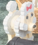 Layered Poodle Woodcraft Pattern