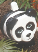 Layered Panda Woodcraft Pattern