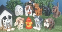 Big Dogs Layered Animal Pattern Set
