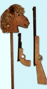 Hobby Horse 'N Guns Wood Plans