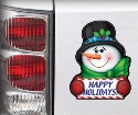 Snowman Magnet
