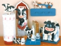 Cow'ntry Cows Woodcraft Pattern