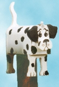 Dalmation Mailbox Woodcraft Pattern