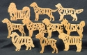 Dog Breed Puzzle Patterns