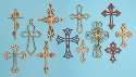 12 Ornamental Wall Cross Patterns