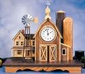 Little Country Farm Clock Pattern Booklet