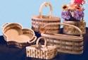 Wooden Basket Pattern Set #2