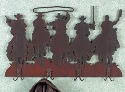 Wild West Coat Rack Wood Plans