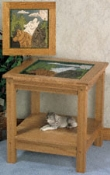Spirited Wolf End Table Plans