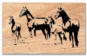 Horses Scroll Saw Pattern