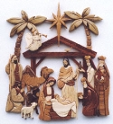 Intarsia Nativity Scroll Saw Pattern