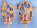 Butterfly and Hummingbird Sconce Patterns