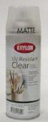 Krylon UV-Resistant Clear Matte Sealer