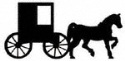 Amish Buggy Shadow Wood Pattern