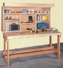 Space Saver Workbench Plans