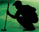 Stooping Putter Shadow Woodcrafting Pattern