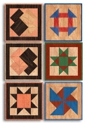 Small Quilt Squares Wood Pattern