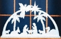 One Piece Indoor Nativity Pattern