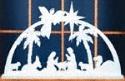 One Piece Indoor Nativity Pattern