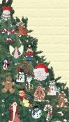 3 Christmas Ornament Pattern Sets