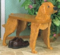 Golden Retriever Bench Wood Plans