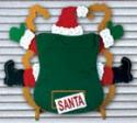 Santa Splat Woodcrafting Pattern