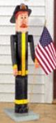 Pole Fireman Woodcraft Pattern