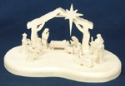 3D Nativity Scroll Saw Pattern