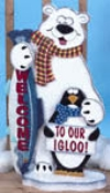 Chilly Welcome Woodcraft Pattern