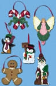 Christmas Ornaments Pattern Set #2