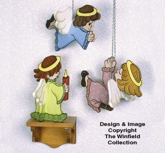 Angelic Decorations Woodcraft Pattern
