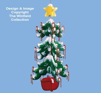 Christmas Tree Mobile Woodcraft Pattern