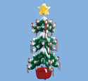 Christmas Tree Mobile Woodcraft Pattern