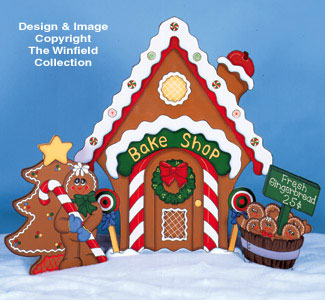 Gingerbread House   Bake Shop Pattern