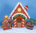 Gingerbread House - Bake Shop Pattern