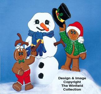 Building Frosty Woodcraft Pattern
