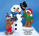Building Frosty Woodcraft Pattern