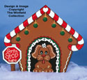 Gingerbread Dog House Wood Pattern