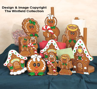 Crazy For Gingerbread Wood Pattern