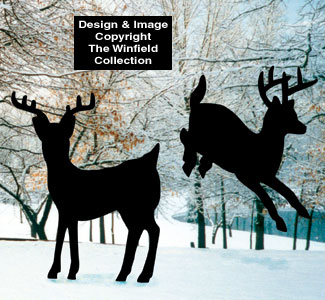 All wholesale deer yard shadow pattern set for Yard shadow patterns