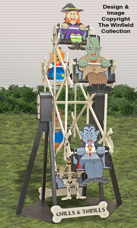 Halloween Ferris Wheel and Riders Plan Set