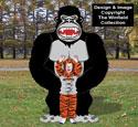 Giant Ape Photo Op Wood Plans