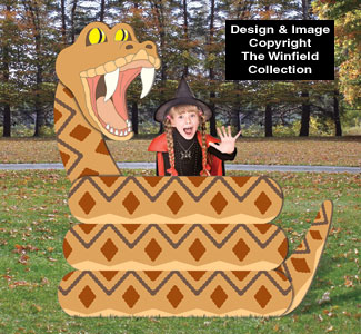 Coiled Snake Photo Op Wood Plans