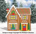 Gingerbread House Woodcraft Pattern