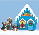 North Pole Tailor Shop Woodcraft Pattern