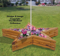 Landscape Timber Star Planter Plans