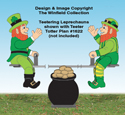 Teetering Leprechauns Pattern
