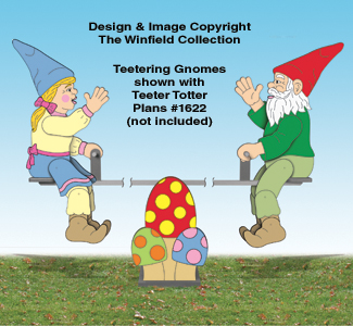 Teetering Gnomes Pattern
