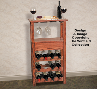 projects wine rack plans