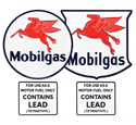 Gas Pump Decal Kit-Mobilgas